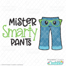 Mister Smarty Pants SVG File