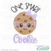 One Smart Cookie Girl SVG File