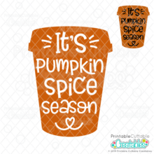 It's Pumpkin Spice Season Free SVG File