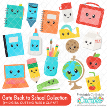 Cute Back to School SVG Bundle