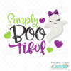 Simply BOO-tiful SVG Cut File