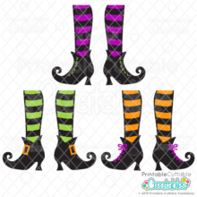 Witch Shoes SVG Files