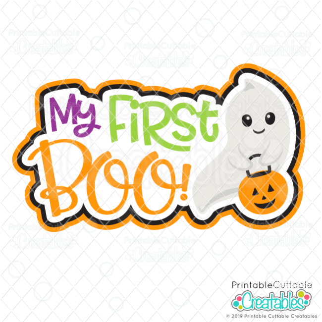 My First Halloween SVG File for Cricut and Silhouette