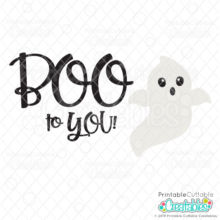 BOO to You FREE SVG Cut File