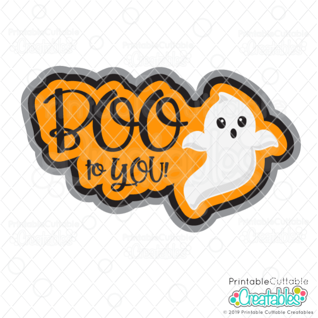BOO to You FREE SVG Scrapbook Cut File