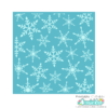 Snowflake Background Stencil FREE SVG file