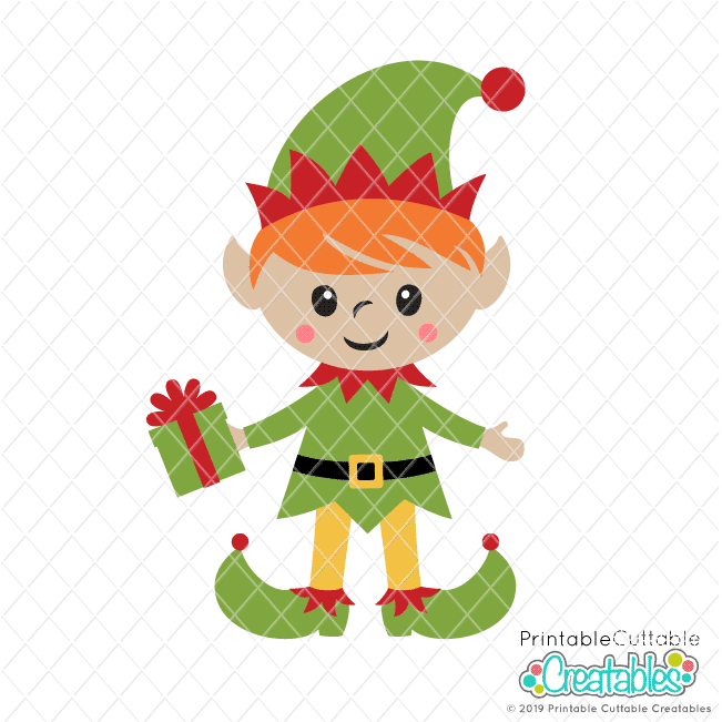 Cute Boy Elf SVG File