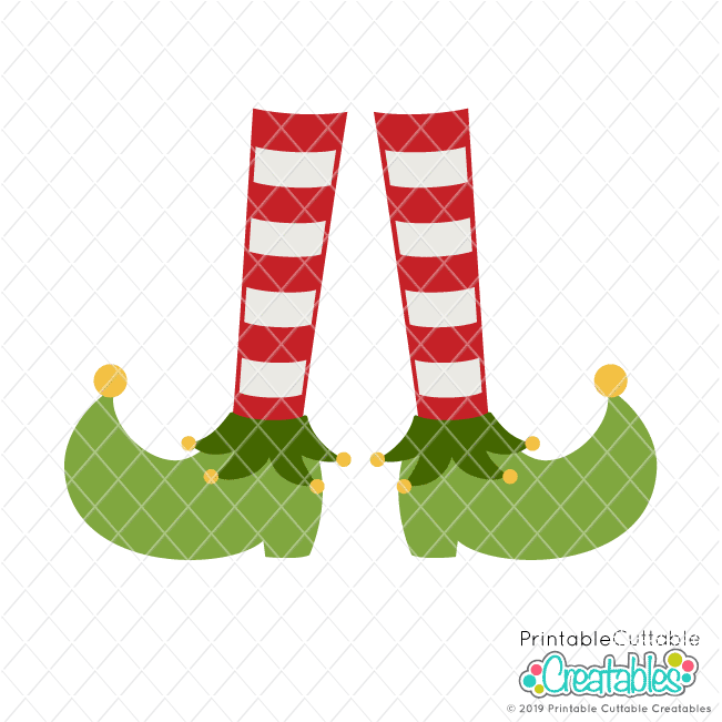 Elf Feet FREE SVG File