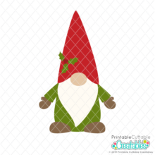 Scandinavian Nordic Gnome SVG File