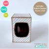Small 9oz. Stemless Wine Glass Box SVG File