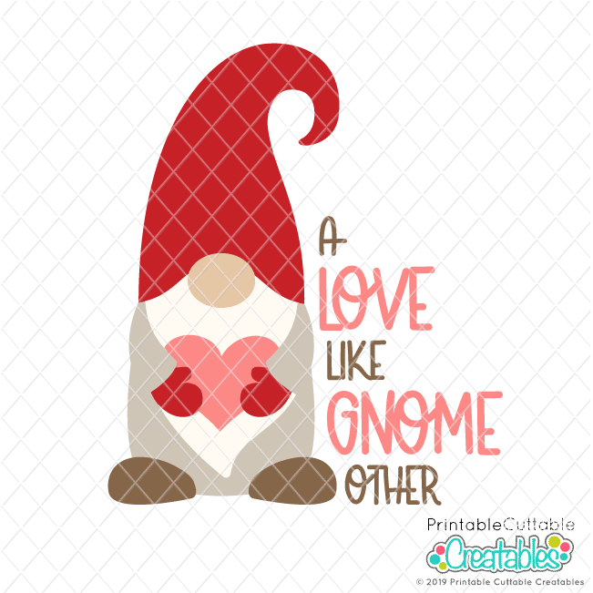 A Love Like No Gnome Other SVG File