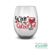 Free Valentine Wine Glass SVG File