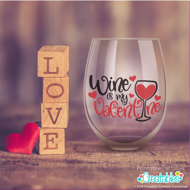 Free Wine Glass SVG File