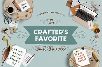Crafters Favorite Font Bundle Commercial Use