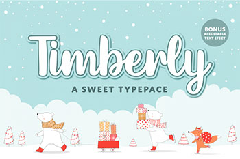 Timberly Free Font Commercial Use