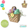 Easter Basket Treat Holder SVG File