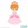 Fairy Tale Princess SVG File