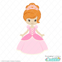 Fairy Tale Princess SVG File