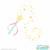 Magic Fairy Princess Wand Free SVG Files