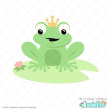 Frog Prince SVG File