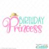 Birthday Princess Free SVG File