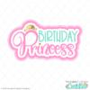 Free Birthday Princess SVG File