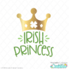 Irish Princess Free SVG Files