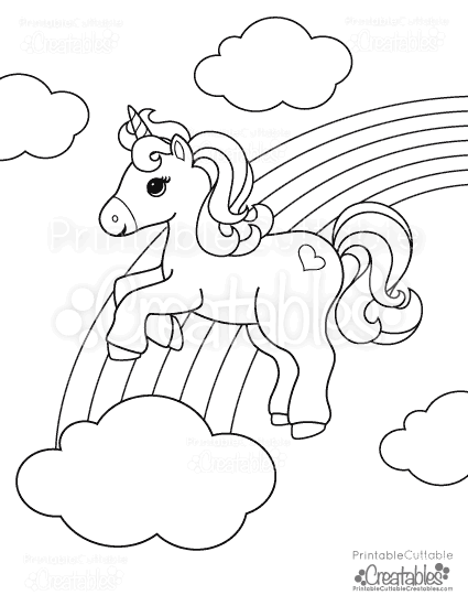 - Free Coloring Pages - Printable Cuttable Creatables