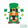 St. Patrick's Day Gnome SVG File & Clipart