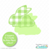 Spring Plaid Easter Shapes FREE SVG Files