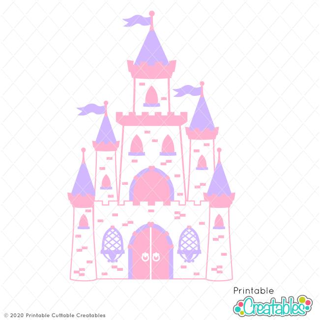 Princess Castle SVG Cut File