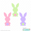 Easter Bunny Bums FREE SVG Files