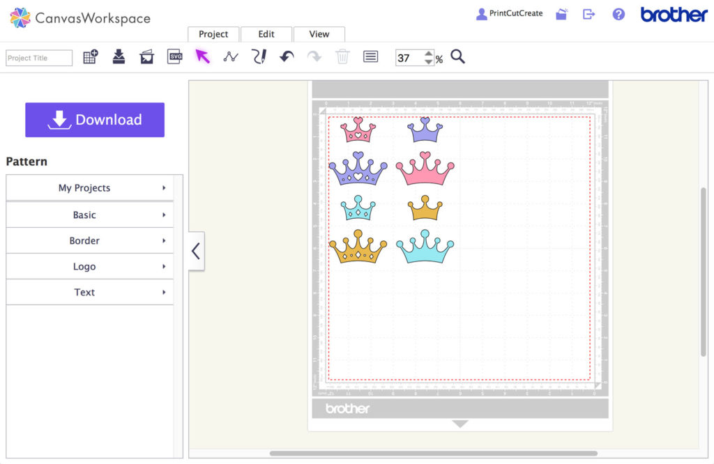 SVG Imported to SNC CanvasWorkspace