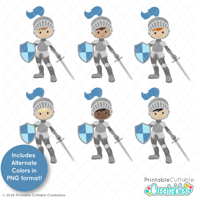 Cute Prince Knight SVG File