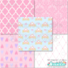 Princess Digital Paper Pack