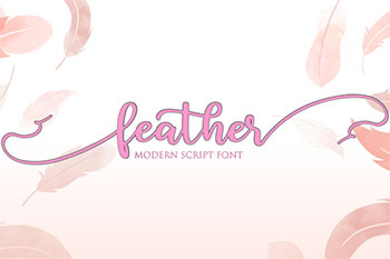 Feather Free Font Commercial Use