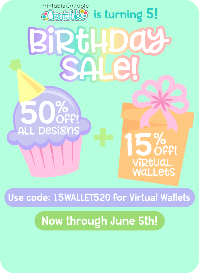 Birthday SVG Sale