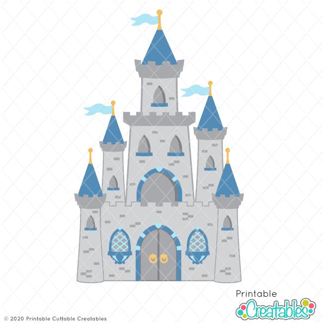 Royal Castle SVG File & Clipart