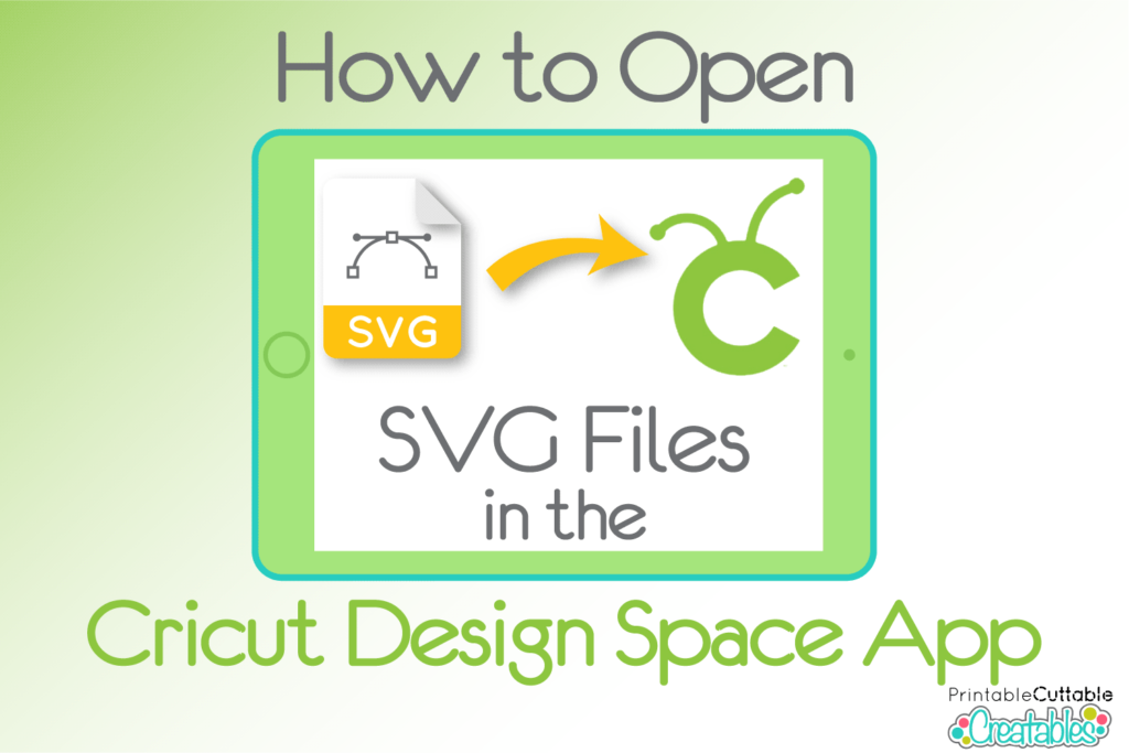 How to Open SVG Files in the Design Space App