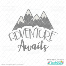 Adventure Awaits Free SVG Cut File