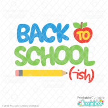 Back to School-ish Free SVG File