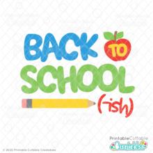 Back to School-ish Free SVG File