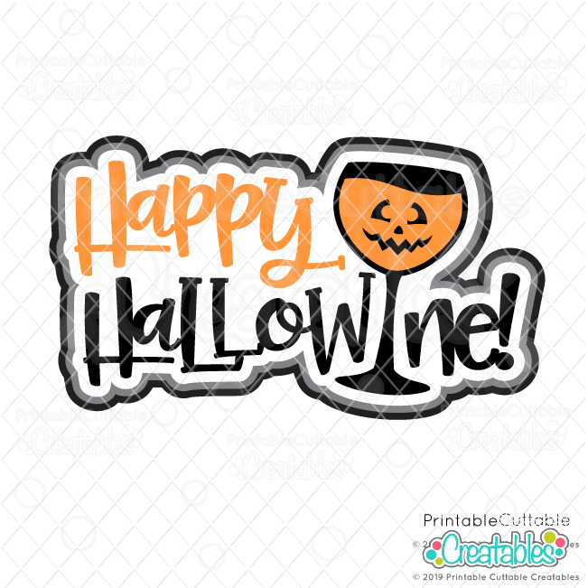 T115 Happy Hallowine SVG File preview 2