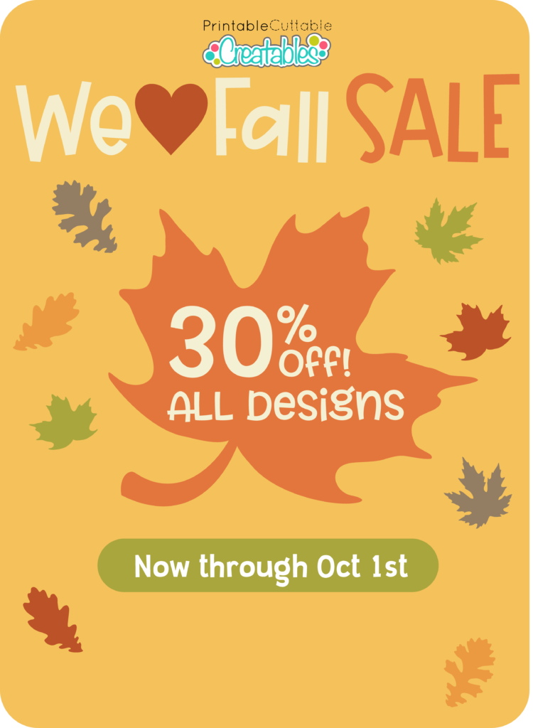 Autumn SVG Sale 2020