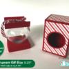 """Round Ornament Box SVG File 3.25"""""""