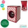 "Round Ornament Gift Box SVG 3 ¼"""