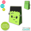 Frankenstein Treat Bag SVG File