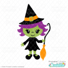 Little Witch SVG File