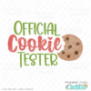 Official Cookie Tester Free SVG File