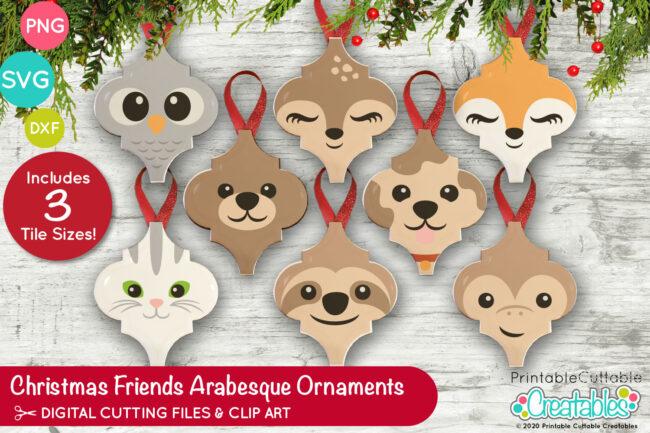 E580 Animal Friends Arabesque Ornaments previewIG